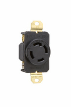 30 Amp NEMA L1430 Single Receptacle