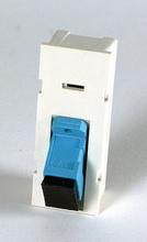 TRACJACK 1-SC SIMPLEX, SINGLEMODE CERAMIC ADAPTER BLUE, 45 DEGREE EXIT, 2UNIT