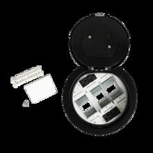 8AT Prewired Evolution™ Poke Thru Device, Flush Style Cover, Black