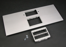 AL5200 Large Multi-Channel Raceway GFCI and Ortronics Cover Plate