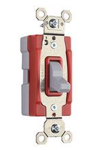 PlugTail® Three-Way 20 amp Toggle Switch, Gray