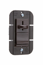 Discontinued   LS Series Incandescent Slide Dimmer, Brown   Sub LS603P