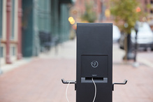 Outdoor Charging Station 2-Gang 2 GFCI - Bronze