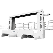 Mighty Mo Overhead Cable Pathway Rack - 2RU - White