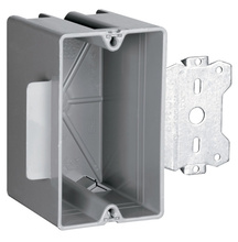 Wood & Steel Stud Bracket Box with Quick/Click
