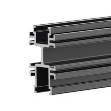 Beam- Containment- 90 in L Aluminum- Black