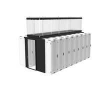 Containment Kit- Vert- 4 ft H X 15 ft L Aluminum- Cabinet Supported