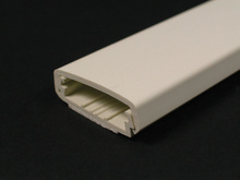 Wiremold 2300 Series Raceway Base and Cover, Ivory