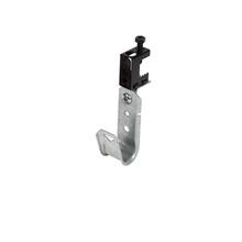 3/4'' JHook Wide/ret - 90 deg swivel screw on beam clp 1/2'' - Box of 50 [F000620]