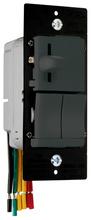 LS TradeMaster Incandescent Slide Dimmer & Switch, Black