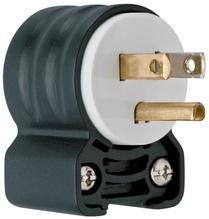 Extra-Hard Use (EHU) Angled Devices - Plug, Black & White