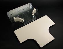 4000 Radiused Full Capacity Tee Fitting