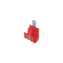 1'' Basic Red Plastic Coated J-Hook w/ Latch Box of 25 [F000663]