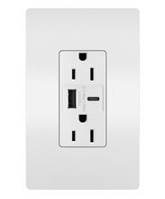 radiant® 15A  Tamper-Resistant USB Type A/C  Outlet