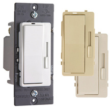 Harmony® Tru-Universal Dimmer with 3 Interchangeable Face Colors