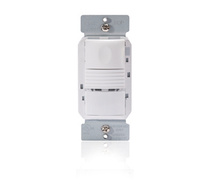 PIR Wall Switch Sensor with Neutral wire, 347 V White