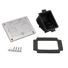 Omnibox® Rectangular Aluminum Communications Cover Plate