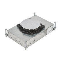 RFB2E Two Compartment Recessed Floor Box