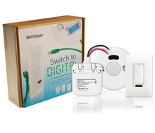 Digital Auto-On 50% Dual-Relay Kit,plenum rated cables,white