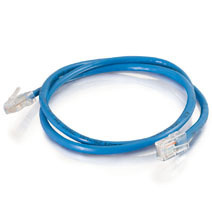 Q-Series Patch Cords, CAT5E, Non-Booted, Blue, 50 FT