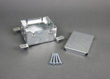 Omnibox® Series Single Gang Shallow Steel Floor Box