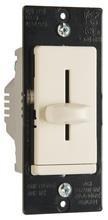 LS TradeMaster CFL/LED/Incandescent Single-Pole, Non-Preset Dimmer, Light Almond
