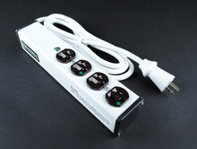 Special Use Plug-In Outlet Center Unit / NOT for Patient Care areas / 120V/15A / 4 O/L / 6' cord