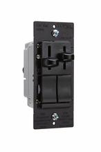 LS Series Dual Fan Speed Control/Dimmer, Black
