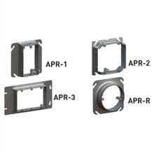 1 GANG ADJ. 3/4'' - 1 1/2'' PLASTER RING BOX OF 25 [FP211050]