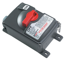 Non-Fusible Safety Switch with Auxiliary Contact, 100 Amps