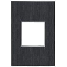 adorne®Rustic Grey One-Gang Screwless Wall Plate