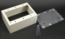 500/700 Three-Gang Deep Switch and Receptacle Box Fitting