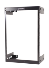 Wall Mount Rack -  Fixed -  15RU -  30 in H X 19.78 in W X 12 in D -  Black