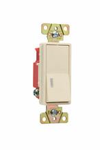 Illuminated Decorator Switch, Ivory