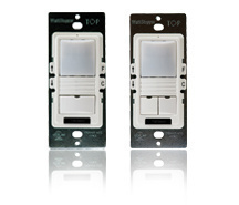Digital PIR 1 Button Wall Mount Sensor w/ Infrared,white