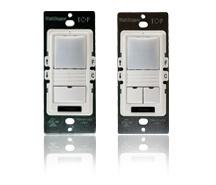 DLM PIR 1-Button Wall Mount Sensor w/IR, Red