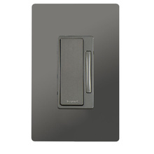 In-Wall 2-Wire Incandescent RF Dimmer, Nickel