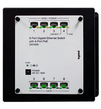8-Port Gigabit Switch with PoE
