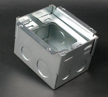 880W1 Series Steel Floor Box
