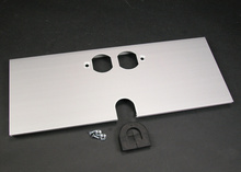 AL5200 Large Multi-Channel Raceway Duplex Receptacle and Mouse Hole Device Cover Plate