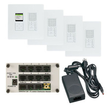 Selective Call 4-Room Intercom Kit, Light Almond