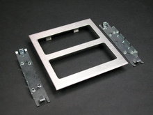 S4000 Two-Gang Device Plate Fitting