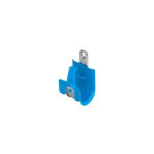 1'' Basic Blue Plastic Coated J-Hook w/ Latch Box of 25 [F000662]