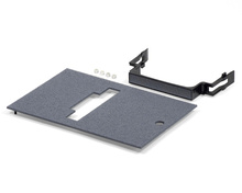 Outdoor Ground Box Cover Plate Kit, Gray