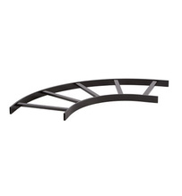 Horizontal Radius Runway - 12 in - Black- TRT Style