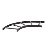 Horizontal Radius Runway - 12 in - Black- TRT Style