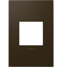 adorne® Bronze One-Gang Screwless Wall Plate