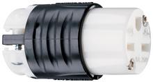 15A, 250V Extra-Hard Use Spec-Grade Connector, Black & White