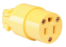 Medium-Duty Connector, Yellow