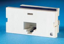 Series II, one-port Clarity 6, T568A/B, 180 degree, Fog White